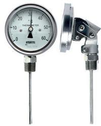 万向型双金属温度计 WSS-480 WSS-580