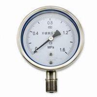 全不锈钢耐震压力表 YTF-100H YTF-150H