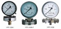 膜片压力表 YP-100L0-0.6Mpa