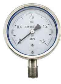 耐震压力表 YN-100T 0~1.6MPa