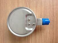 不锈钢耐震压力表 ybfn-100/0-0.1MPa