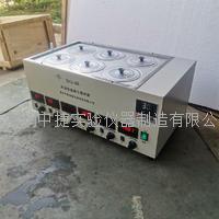 六孔數顯水浴恒溫磁力攪拌器 SHJ-6A