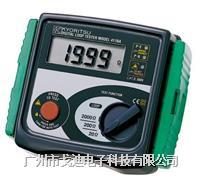 日本共立|數顯電阻計MODEL-4118A 回路電阻測試儀