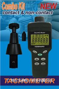 臺灣泰瑪斯|線速度轉速計TM-4100 光電/接觸一體式轉速表