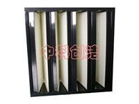 V型/W型亞高效空氣過濾器 塑膠框亞高效空氣過濾器 V型/W型 箱式亞高效空氣過濾器生產廠家