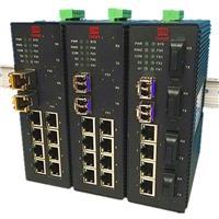 4光4电工业以太网交换机