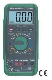 機械保護式數字萬用表 DY2104