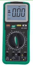 双色注塑新型数字万用表 DY3103