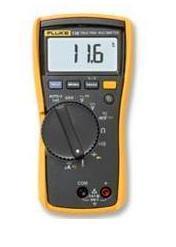 Fluke 116C数字万用表测量电流