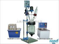上海實驗室小型雙層玻璃反應釜 1L-5L