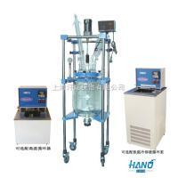 上海實驗用雙層玻璃反應釜 10L-50L