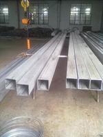 泰州佳孚矩形鋼管廠生產無磁、力學性能標準的不銹鋼無縫方管 100*150*6