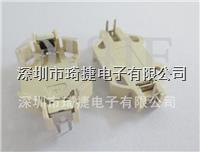 CR2032-6白色插腳電池座
