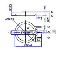 精密激光點焊PIN腳CR2032電池 CR2032