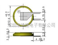 高品質激光焊接CR1220電池帶焊腳 CR1220