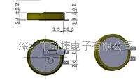 -40℃~80℃寬溫電池CR2450激光焊接 600mAh