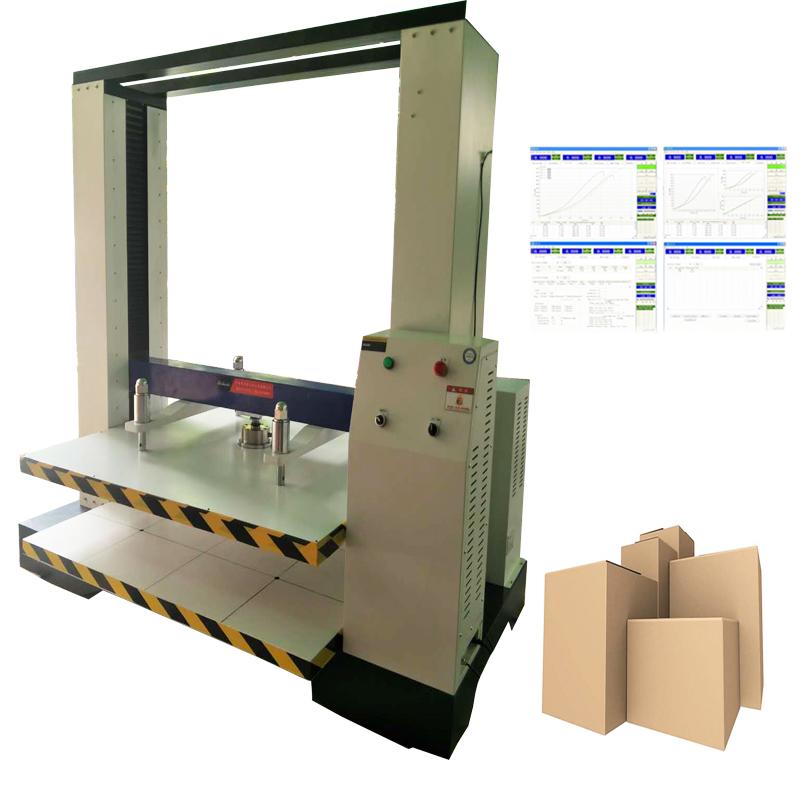 電腦測控紙箱抗壓強度試驗機