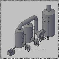 供應DSF型玻璃鋼酸霧凈化塔