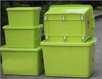 耐摔塑料衣物整理箱儲物箱