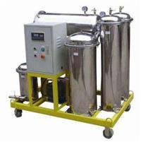 TYK抗燃油聚結分離不銹鋼濾油機