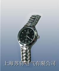 (双日历不锈钢)石英手表式近电报警器 WBF