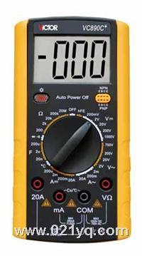 VC9808+ 數字萬用表 VC9808+