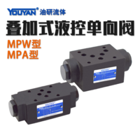 疊加式液控單向閥 MPW-01-2-40, MPA-01-2-40, MPB-01-2-40