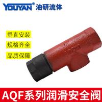 潤滑安全閥 AQF(AF)-10/0.8 鑄鐵(G3/8), AQF(AF)-15/0.8 鑄鐵(G1/2)