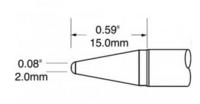 美國奧科(metcal) SFV-CRL20烙鐵頭