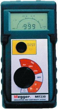绝缘和连续性测试仪 MIT230