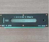 日本原装进口RSK水平仪 新泻理研小型条式水平仪740B02100X18X20*0.02 740B02