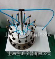 12个独立控制电动圆形水浴氮吹仪