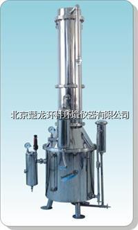 TZ100不銹鋼塔式蒸汽重蒸餾水器 TZ100