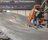 圓弧坡口機 專門坡圓弧的一款自動行走式坡口機