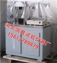 水泥恒荷压力试验机 JYE-300型