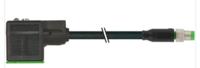 黑色MURR帶電纜的連接器 7005-12021-6340150