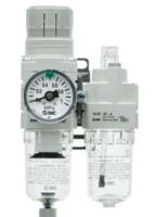 SMC空氣組合單元:減壓閥及油霧器 AC40A-04C-A