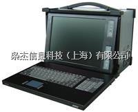 14寸下翻加固便携机8槽位扩展四核处理工控机XJ-6420I-R10
