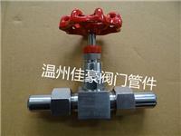 J21W-25P針型儀表截止閥,不銹鋼針型閥,外螺紋截止閥,外螺紋針型閥