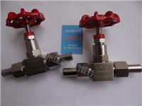 精品打造304,316不銹鋼J21W-160P,J21W-160R,PN160,DN10外螺紋針型壓力儀表截止閥,對焊接式針形閥 J21W-160P,DN10