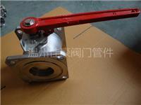 精品佳豪牌304SS,Q41F-16P,DN80不銹鋼方形法蘭槽車球閥,油車球閥 Q41F-16P