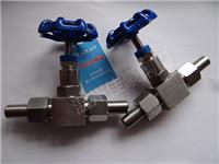 精品打造304,316不銹鋼J21W-16P,J21W-16R,PN16,DN10外螺紋針型壓力儀表截止閥,對焊接式針形閥 J21W-16P,DN10