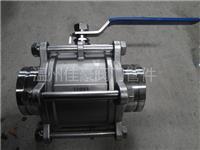 精品Q81F-16P,304不銹鋼三片式溝槽式球閥,三片式卡箍快裝球閥,水處理卡箍連接 溝槽式快裝球閥,溝槽式卡箍球閥,Q81F-16P,水處理卡箍球閥
