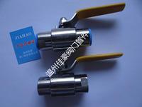 精品Q21F-16P/25/32/40/64P不銹鋼帶活接頭外螺紋對焊接式球閥