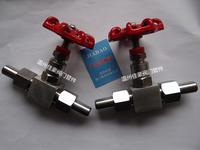 精品J23W/H-16/25/32/40/64/160/320C/P帶活接頭外螺紋焊接式截止針型閥門