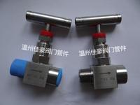 精品J13W-16/25/32/40/160P ZG1/2-M20*1.5不銹鋼壓力儀表針型閥門