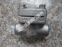 精品優質H61H/Y-16/25/32/40/64/160/320C/150LB/300LB/800LB鍛鋼承插焊止回閥 H61H-64