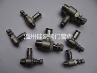 SL8-02 304不銹鋼氣動快插式限流控制閥 氣動流量控制調節流閥 SL8-02