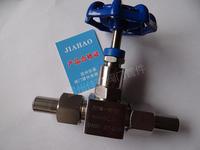 J23W-16/25/40/32/64/160/250/320P/R帶活接頭外螺紋針型截止對焊接式針型閥門