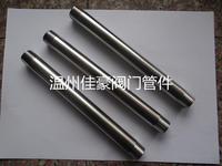打造精品優質304,316不銹鋼非標加長加厚50Mm,70MM,80MM,120Mm,150MM,200MM等管子雙頭外絲 加長管子雙頭絲